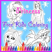 Coloring Pages Girls Game