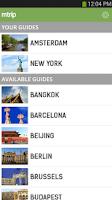 Screenshot of mTrip Travel Guides