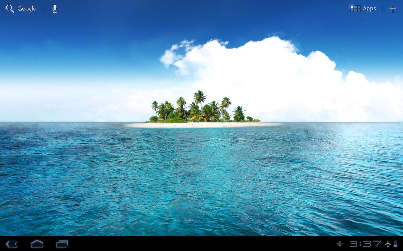 Island HD lite old - screenshot