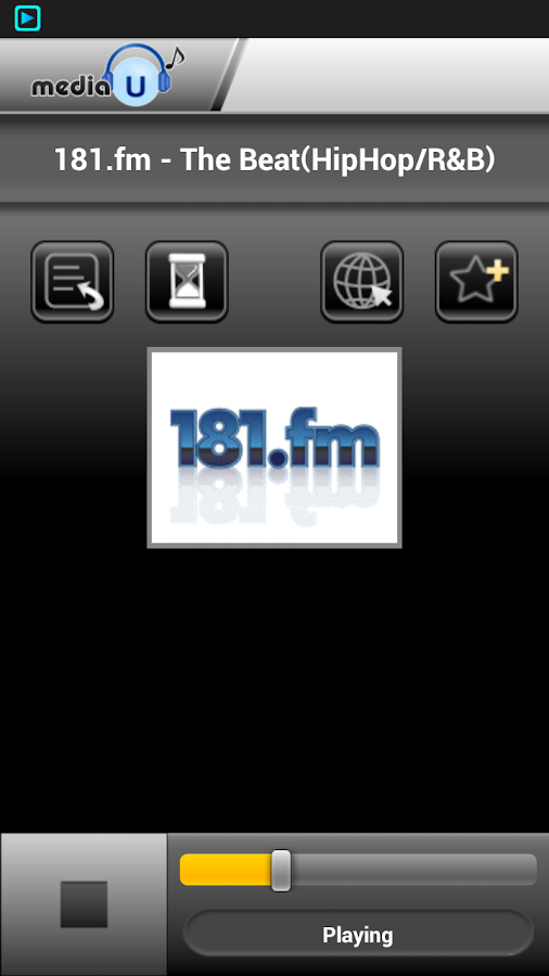 mediaU Radio Full - screenshot