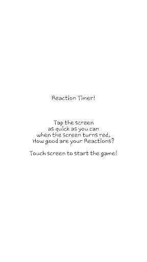 Reaction Timer Free