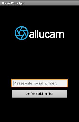 allucam Wi-Fi App.