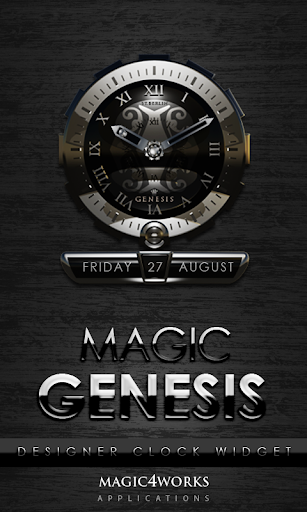Genesis designer Clock Widget
