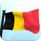 Belgium Flag 3D Free Wallpaper
