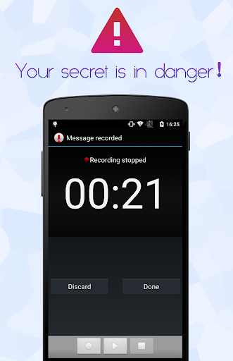 Voice Recorder Lock
