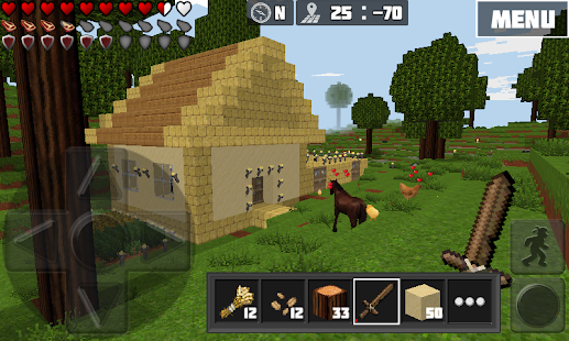Worldcraft 3d build craft android apps on google play for Survival crafting games pc