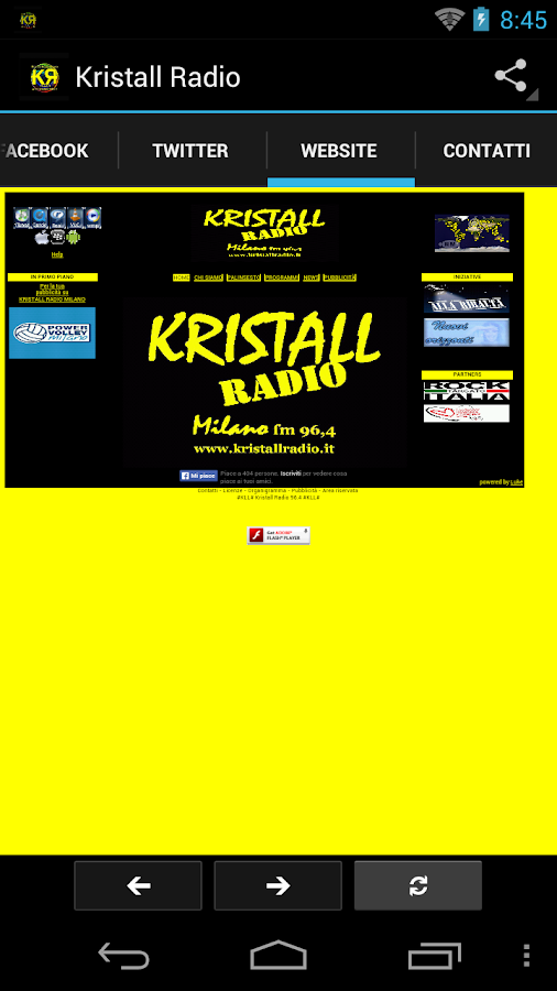 Kristall Radio- screenshot