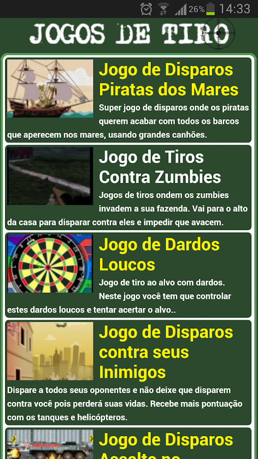 Jogos de Tiro - screenshot