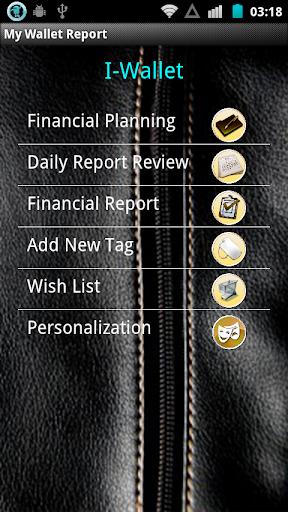 My Wallet Report