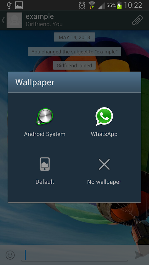 Wallpapers for WhatsApp - screenshot
