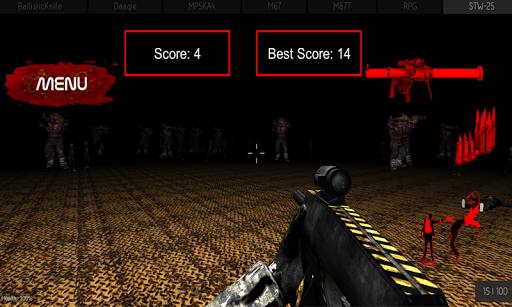 Zombie Dead Shooting 3D