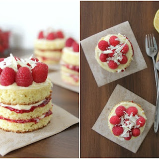Mini Lemon Berry Cakes