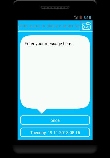 SMS Scheduler Alpha