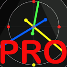 PRO ReGular Clock LWP icon