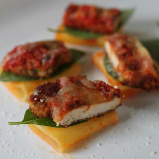 Chicken Parm Nibbles