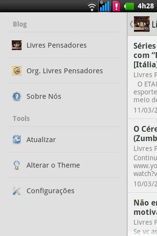 Livres Pensadores- screenshot