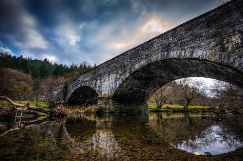 Road Bridge by Mike Shields - Landscapes Waterscapes ( bridge, HDR, Landscapes )