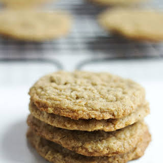 Soft and Chewy Oatmeal Cookies.