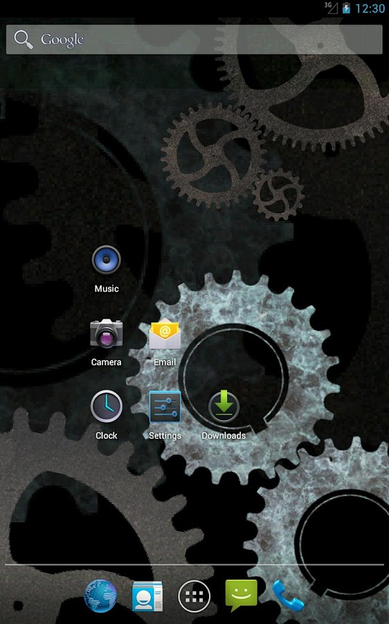 Steampunk Gears Wallpaper Free- screenshot