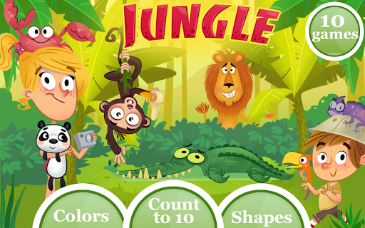 Jungle Lite: Educational game