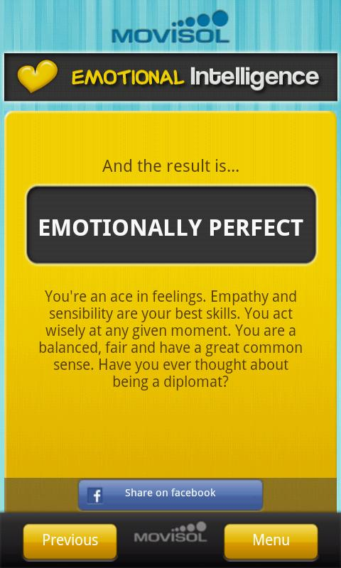 Emotional Intelligence - screenshot