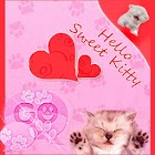 GO SMS Pro Theme Pink Cats icon