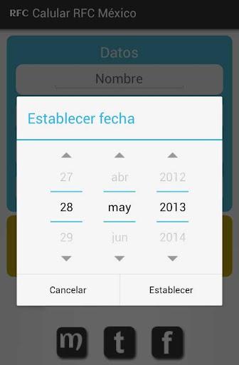 【免費財經App】Calcular RFC México-APP點子
