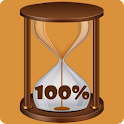 Sand Timer Battery Widget icon