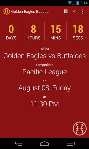 Golden Eagles Baseball Pro