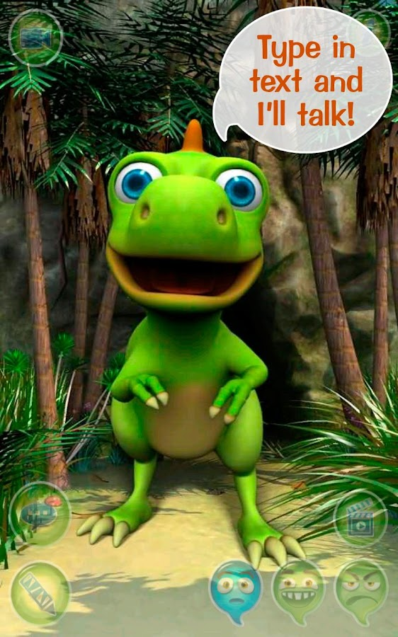 Talky Don The Dinosaur HD FREE - screenshot