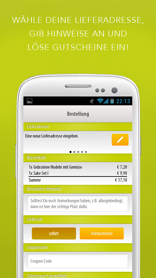Mjam.at - Essen Lieferservice - screenshot