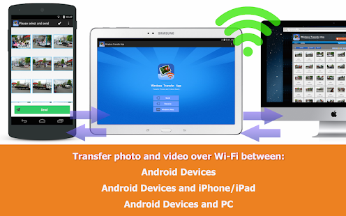 Wireless Transfer App - Free- screenshot thumbnail