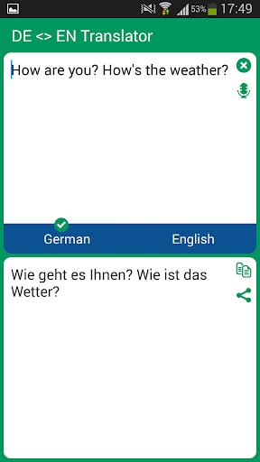 German - English Translator
