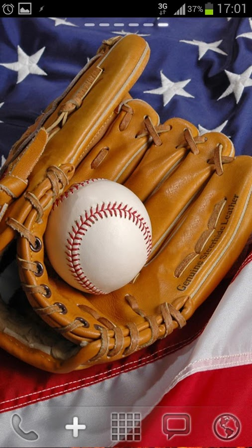 Free Baseball Live Wallpaper - screenshot