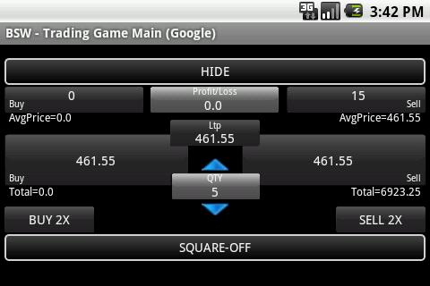 Bonrix Stock Watcher- screenshot