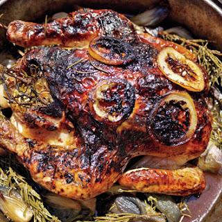 Roast Chicken with Rosemary, Lemon, and Honey