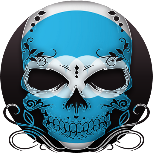 Skull - FN Theme - screenshot