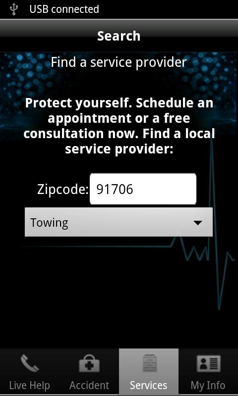 Auto Accident App - screenshot