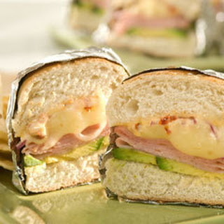 Toasted Ham & Cheese Tortas.
