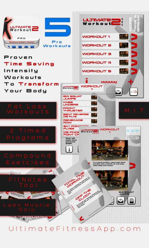 Ultimate Workout 2 PRO Edition - screenshot