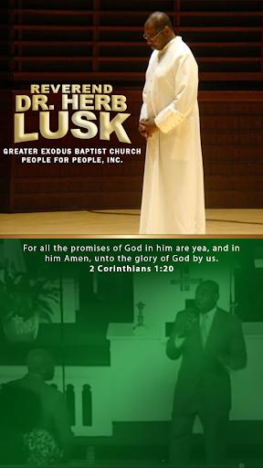 Reverend Dr. Herb H. Lusk II