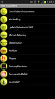Screenshot of Tennis SMS classification