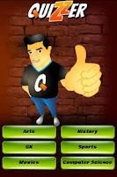 Screenshot of Quizzer
