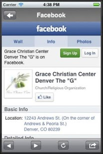 Grace Christian Center - screenshot thumbnail