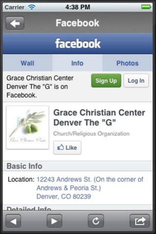 Grace Christian Center - screenshot