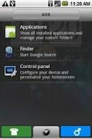 Screenshot of Cliq Theme for GDE