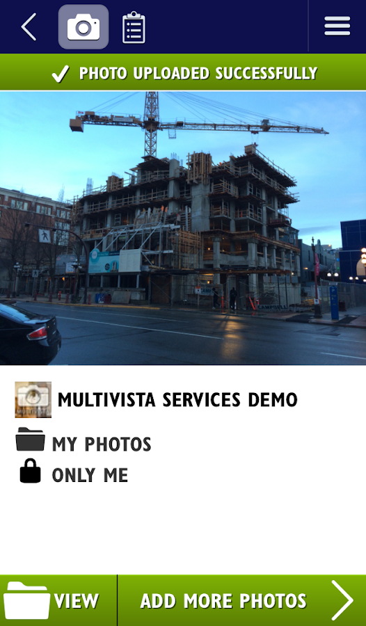 Multivista - screenshot
