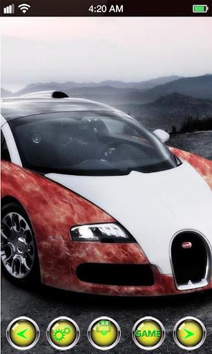 布加迪威龍賽車動態壁紙