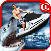 Crazy Jet Ski:Shark Attack 3D