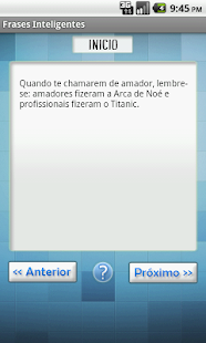 Frases Inteligentes - screenshot thumbnail
